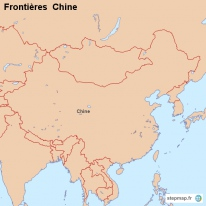 Frontières  Chine