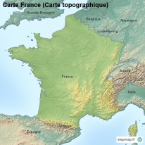 Carte France (Carte topographique)