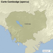 Carte Cambodge (apercu)