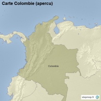 Carte Colombie (apercu)