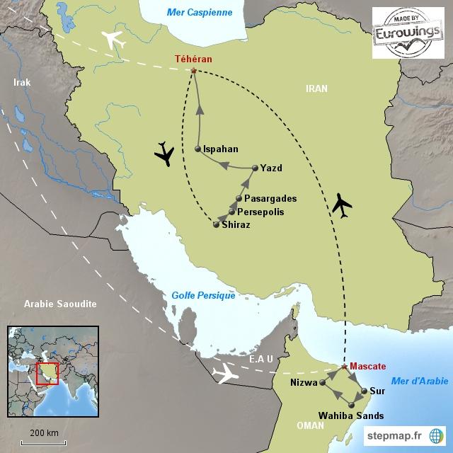 Du Pays de Sinbad au Royaume de Perse