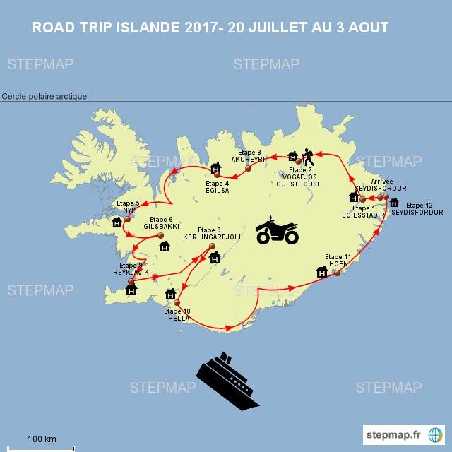 ROAD TRIP ISLANDE 2017