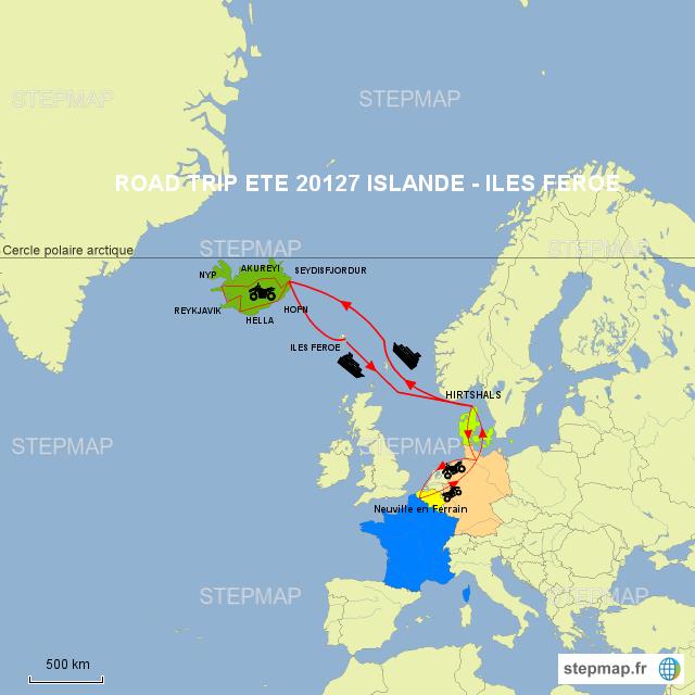 ROAD TRIP ETE 2017 ISLANDE-ILES FEROE