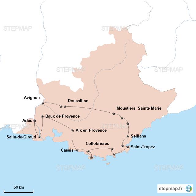 Road-trip en Provence