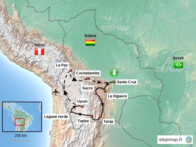 Splendeurs boliviennes